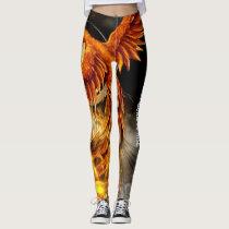 Phoenix leggings/Burn to rise Leggings