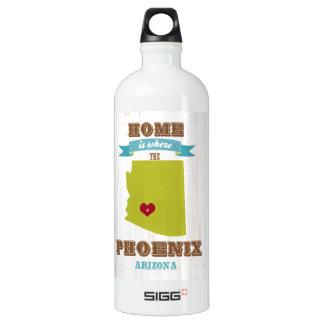 Phoenix, mapa de Arizona - casero es donde está el