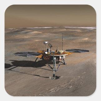 Phoenix Mars Lander 2 Square Sticker
