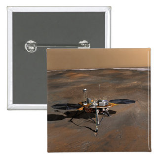 Phoenix Mars Lander 3 2 Inch Square Button
