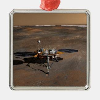 Phoenix Mars Lander 3 Christmas Tree Ornaments