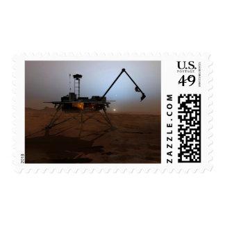 Phoenix Mars Lander 4 Postage