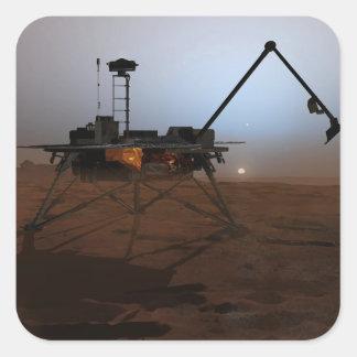 Phoenix Mars Lander 4 Square Sticker