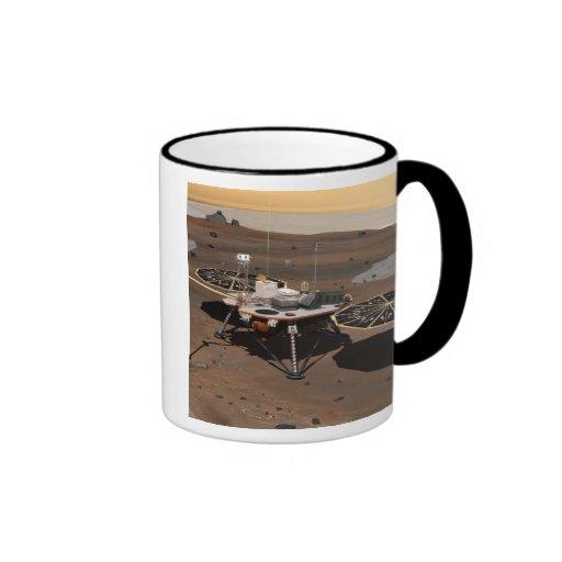 Phoenix Mars Lander 5 Coffee Mug