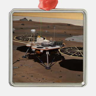 Phoenix Mars Lander 5 Christmas Tree Ornaments