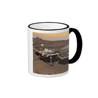 Phoenix Mars Lander 5 Ringer Coffee Mug