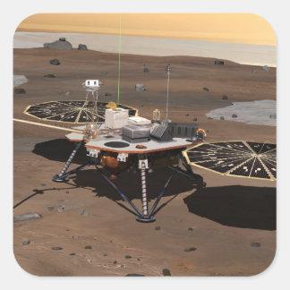 Phoenix Mars Lander 5 Square Sticker
