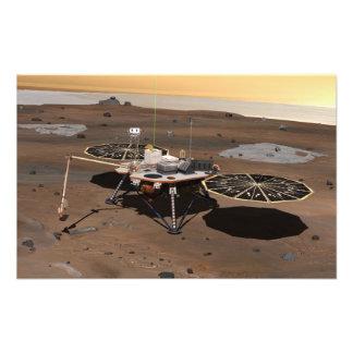 Phoenix Mars Lander Photograph