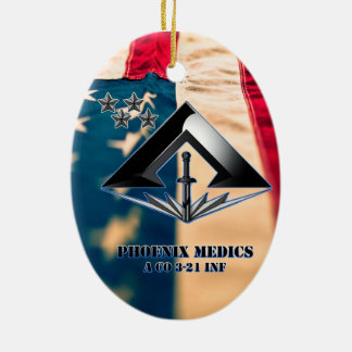 Phoenix medics ceramic ornament