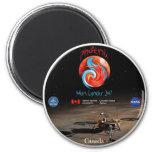 Phoenix Mission Patch CSA Magnet