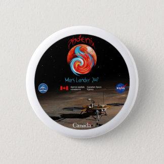 Phoenix Mission Patch CSA Pinback Button