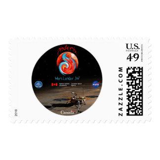Phoenix Mission Patch CSA Postage