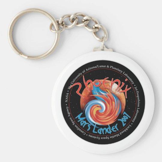 Phoenix Mission Patch Keychain