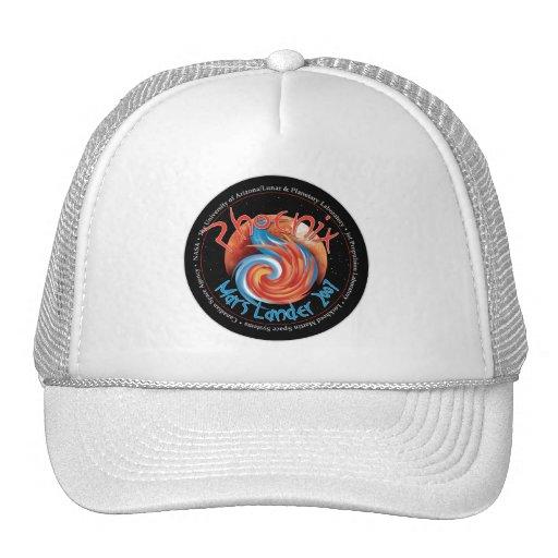 Phoenix Mission Patch Mesh Hat