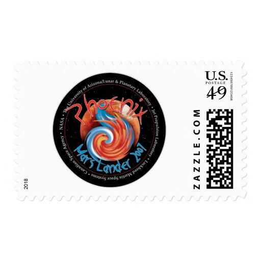 Phoenix Mission Patch Stamps