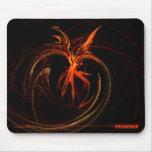 Phoenix-mousepad Alfombrilla De Ratón