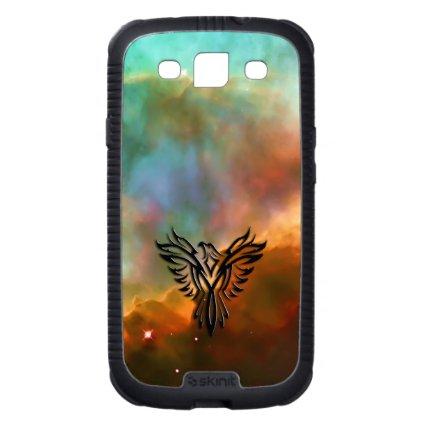 Phoenix on Stars and Veils in Omega Nebula Samsung Galaxy SIII Case