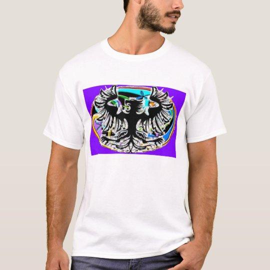 Phoenix on Triple Spiral Oval T-shirt