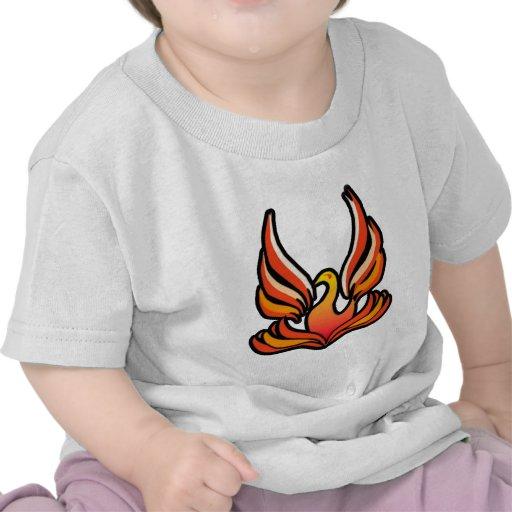 Phoenix - pájaro del fuego camisetas