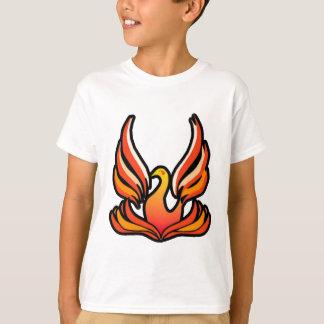 Phoenix - pájaro del fuego playera