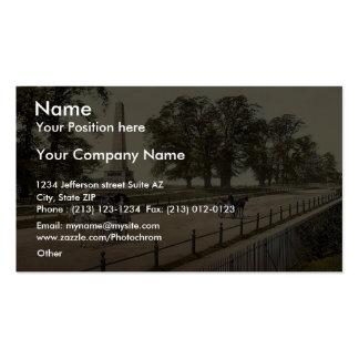 Phoenix Park. Dublin. Co. Dublin, Ireland rare Pho Business Card