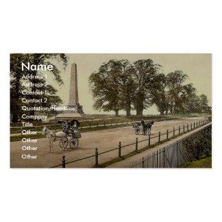 Phoenix Park. Dublin. Co. Dublin, Ireland rare Pho Business Cards