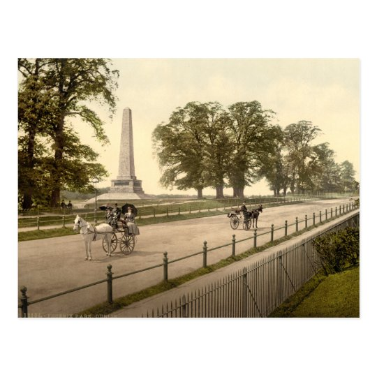 Phoenix Park, Dublin Postcard