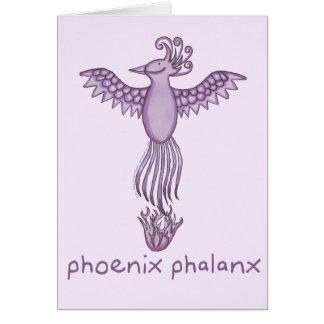 Phoenix Phalanx Card (various sizes)