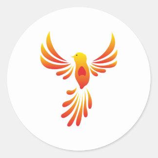 Phoenix phenix classic round sticker