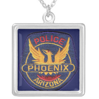 Phoenix Police Department Silver Plated Necklace