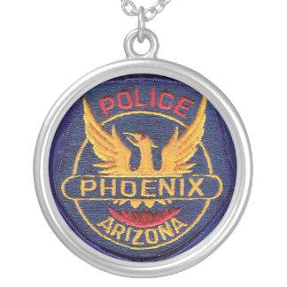 Phoenix Police Medallion Round Pendant Necklace