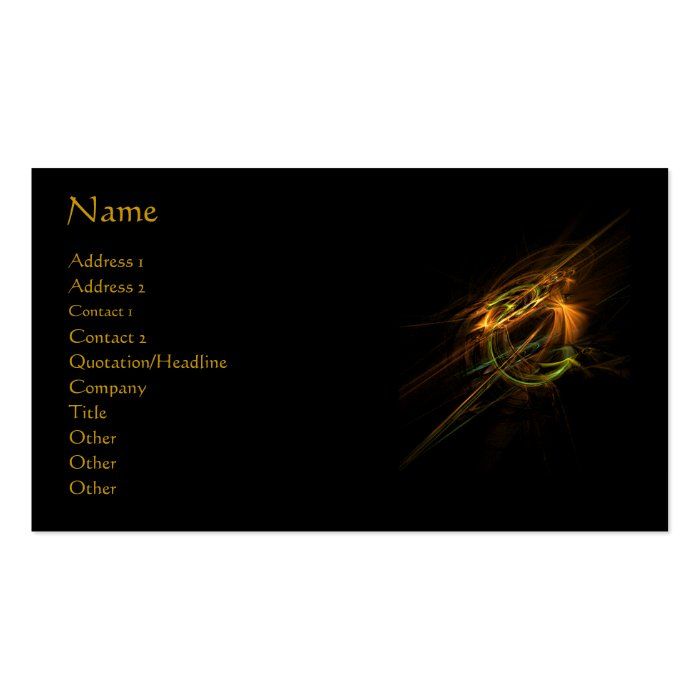 Phoenix Profile/Business Card