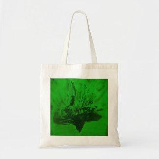 Phoenix que sube en verde bolsa tela barata