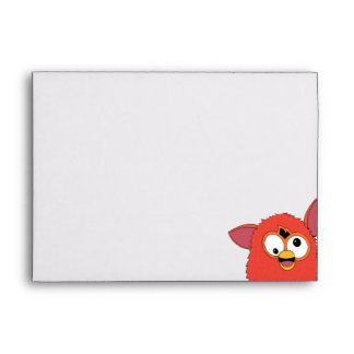 Phoenix Red Furby Envelope