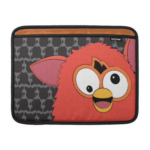 Phoenix Red Furby Sleeves For MacBook Air