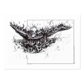 Phoenix renacida plantilla de tarjeta personal