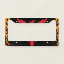 Phoenix. Rise from Ashes. License Plate Frame