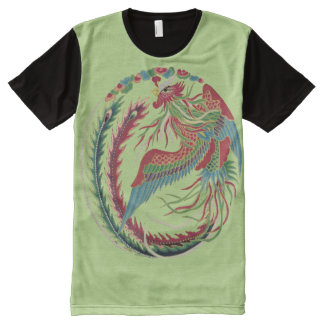 Rise of the phoenix t shirts shirt designs zazzle for Phoenix t shirt printing