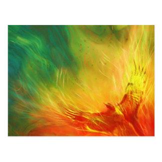 Phoenix Rising Art Postcard