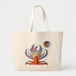 Phoenix Rising Canvas Bag