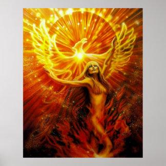Phoenix Rising by Lisa Iris Posters