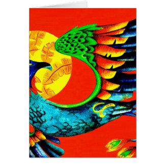"""""""phoenix rising"""" card"""