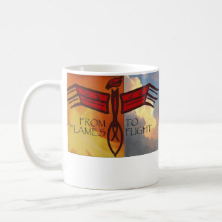 Phoenix Rising Classic White Coffee Mug
