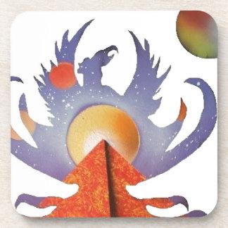 Phoenix Rising Beverage Coasters