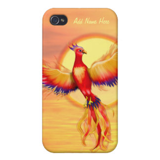 Phoenix Rising Cover For iPhone 4