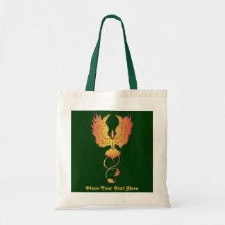 Phoenix Rising Custom Text Bag