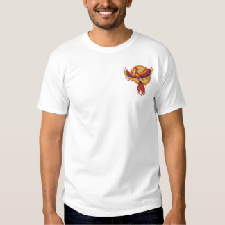 Phoenix Rising Embroidered T-Shirt