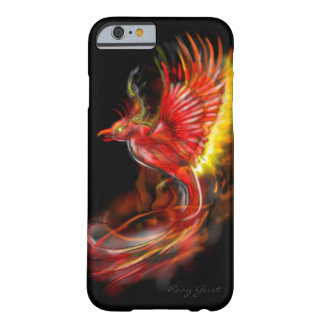 phoenix rising from the ashes graphic artwork barely there iPhone 6 case