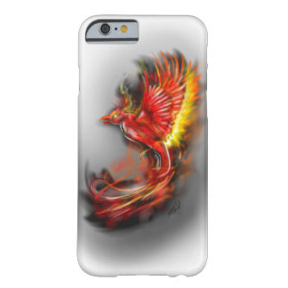 phoenix rising from the ashes, rebirth fire birds barely there iPhone 6 case