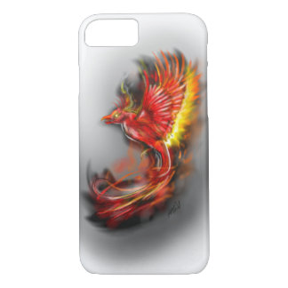phoenix rising from the ashes, rebirth fire birds iPhone 8/7 case